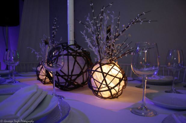 Elementos decorativos muy elegantes para tu boda - Foto Casa Colima