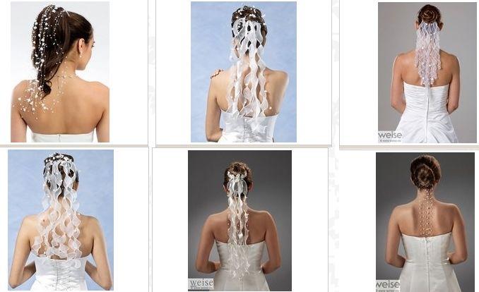 www.kristinabruidsmode.nl Bruidskapsel accessoires haarstrengen