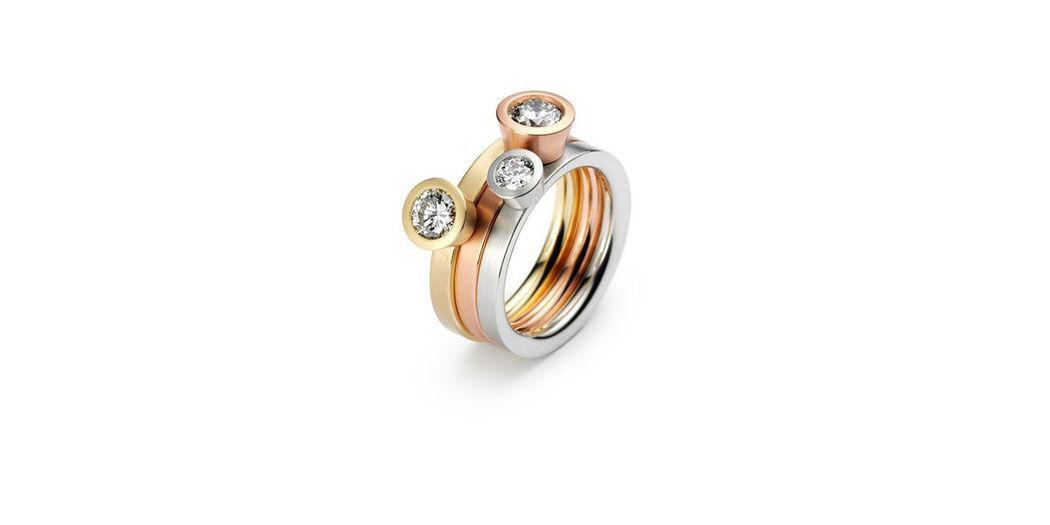 Beispiel: Wunderschöne Verlobungsringe, Foto: Juwelier Schlund.
