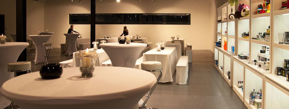 Beispiel: Stehempfang, Foto: Stroh Catering.
