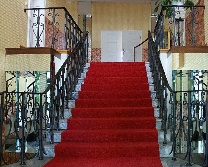Beispiel: Foyer - Treppe, Foto: Villa am Fennpfuhl.