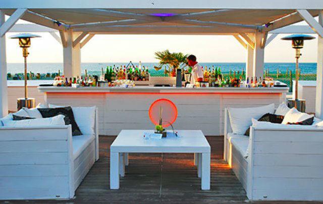 Beispiel: Strandbar, Foto: Teepott-Restaurant.