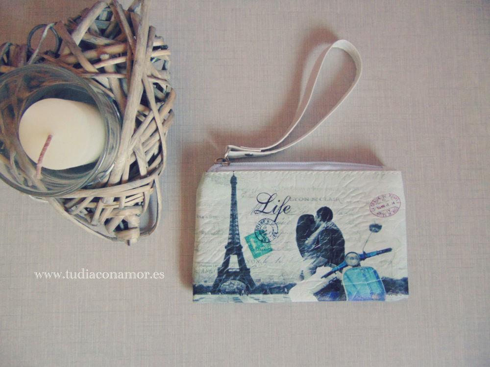 Detalle de boda neceser París