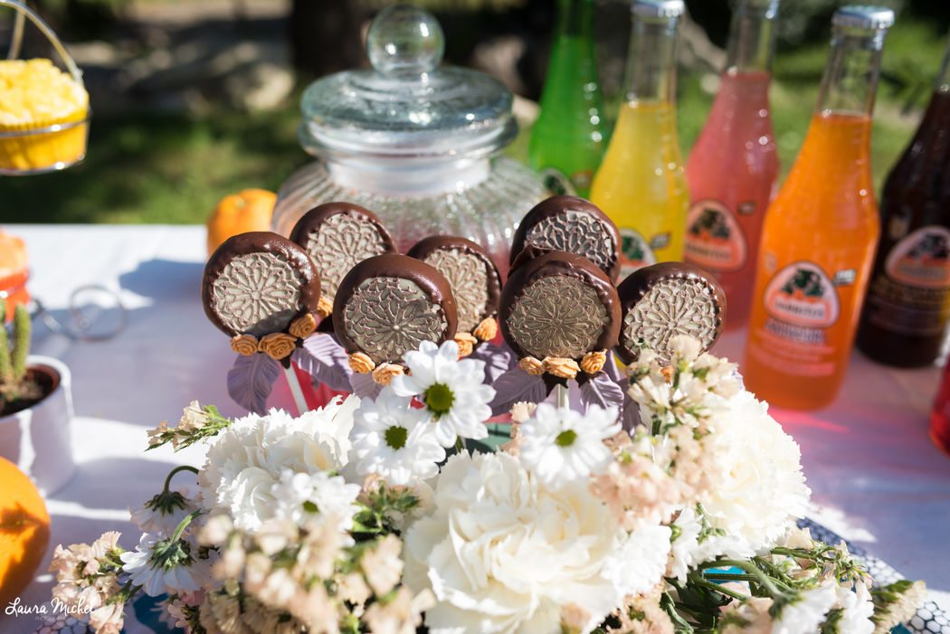 Cakepops attrape-rêves - Mariage Coachella