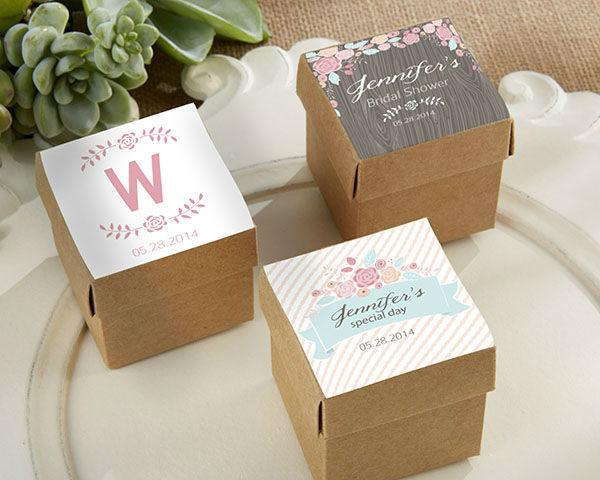 Cajas para dulces como recordatorio, para tu Boda Rústica & campestre