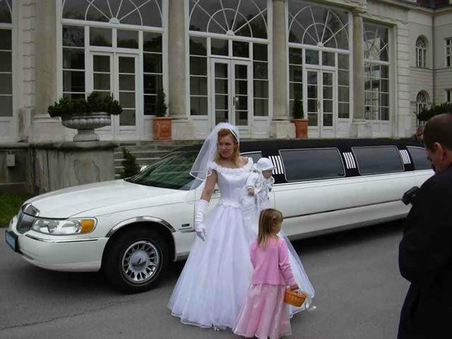 Beispiel: Da kommt die Braut, Foto: Action Limousine.