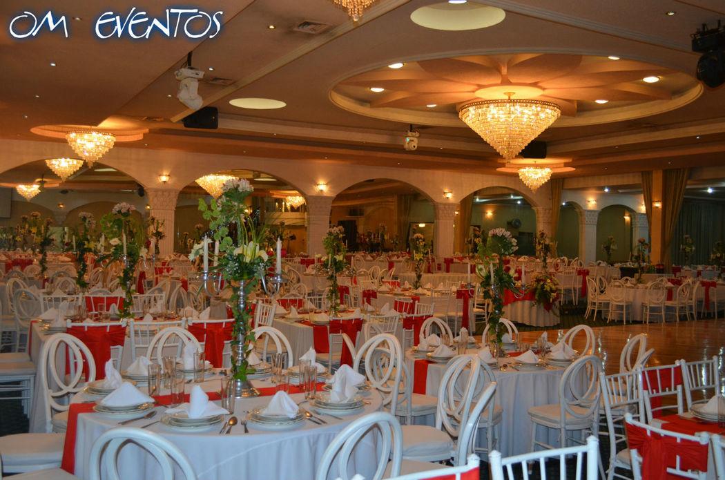 Salón Mirage Boda Capacidad Max. 500 Ps.  Ecatepec, Estado de México