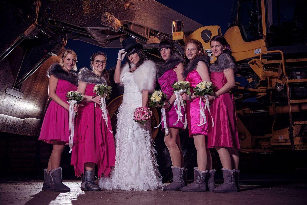 Beispiel: Hochzeitsfotografie, Foto: JB_Pictures.