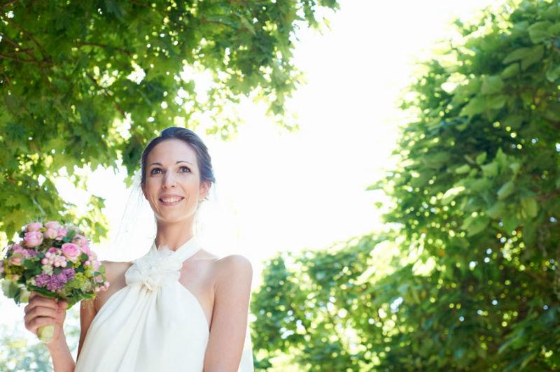 Beispiel: Portrait der Braut, Foto: Katinka Stone.