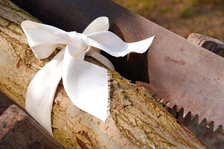 Beispiel: Hochzeitsbrauch, Foto: Gasthof Zur Linde.