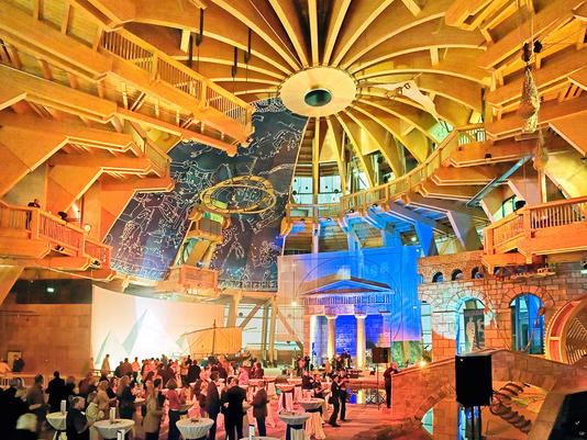 Beispiel: Kuppelsaal, Foto: Jahrtausendturm.