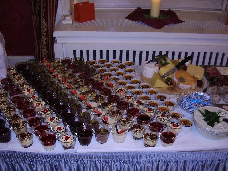 Beispiel: Dessert Buffet, Foto: Logenhaus.