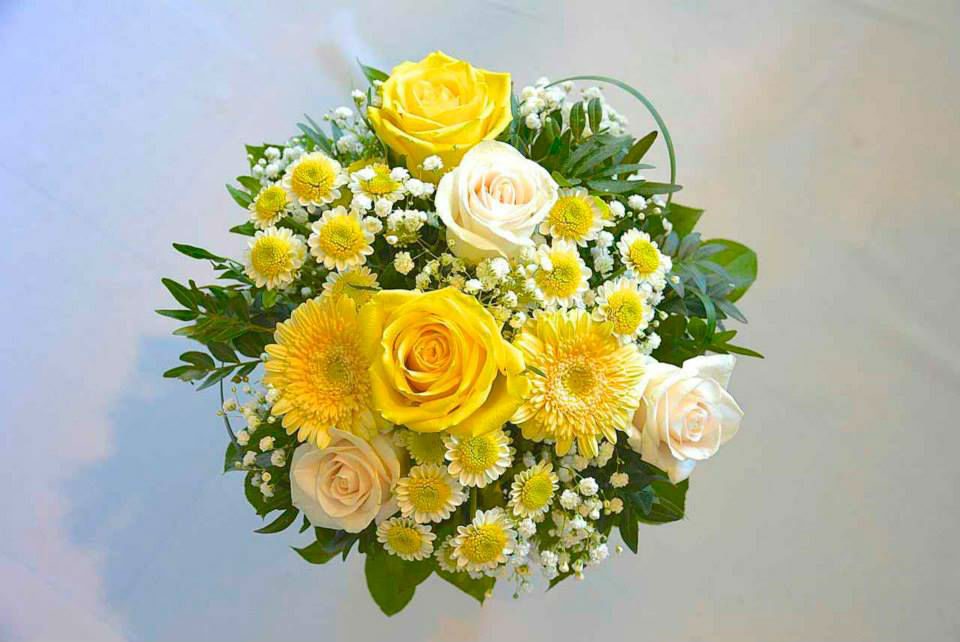 Beispiel: Brautsträuße, Foto: Le langage des fleurs.