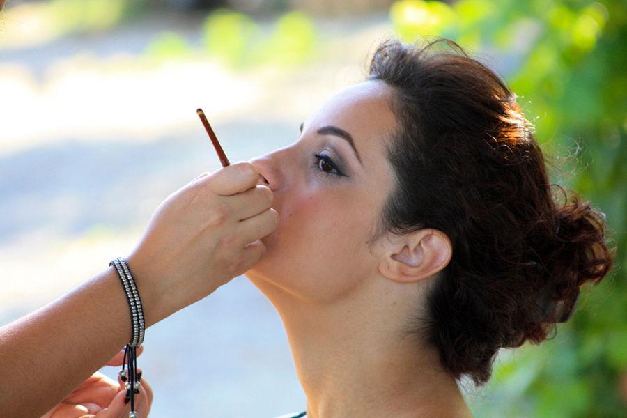Maquillaje: Carolina Miret Makeup Artist Fotografía: Pepe Llavori
