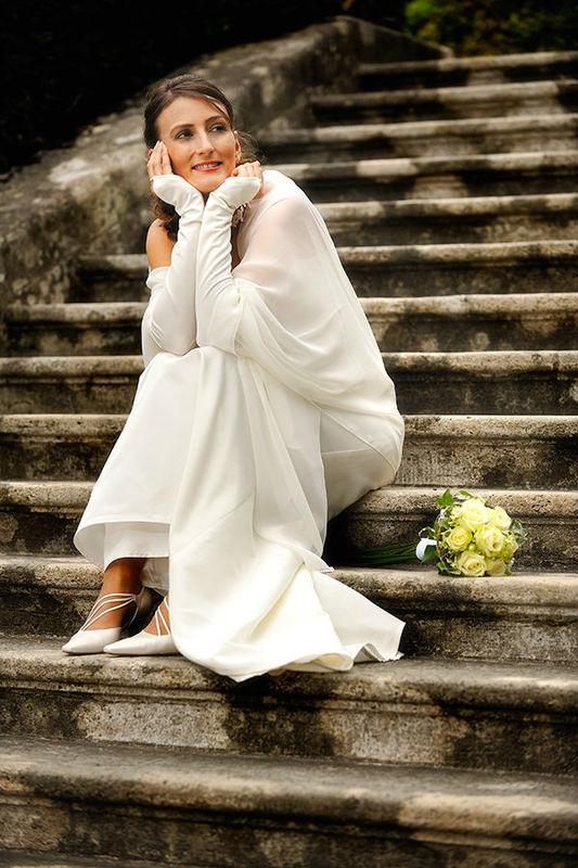 Romantisches Foto der Braut, Foto: Alexander Volmar.