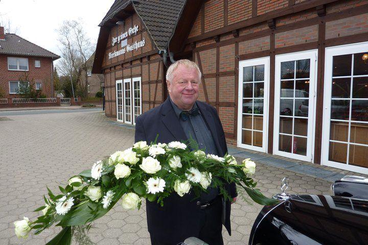 Beispiel: Blumendekoration, Foto: AKZENT Hotel Zur Grünen Eiche.