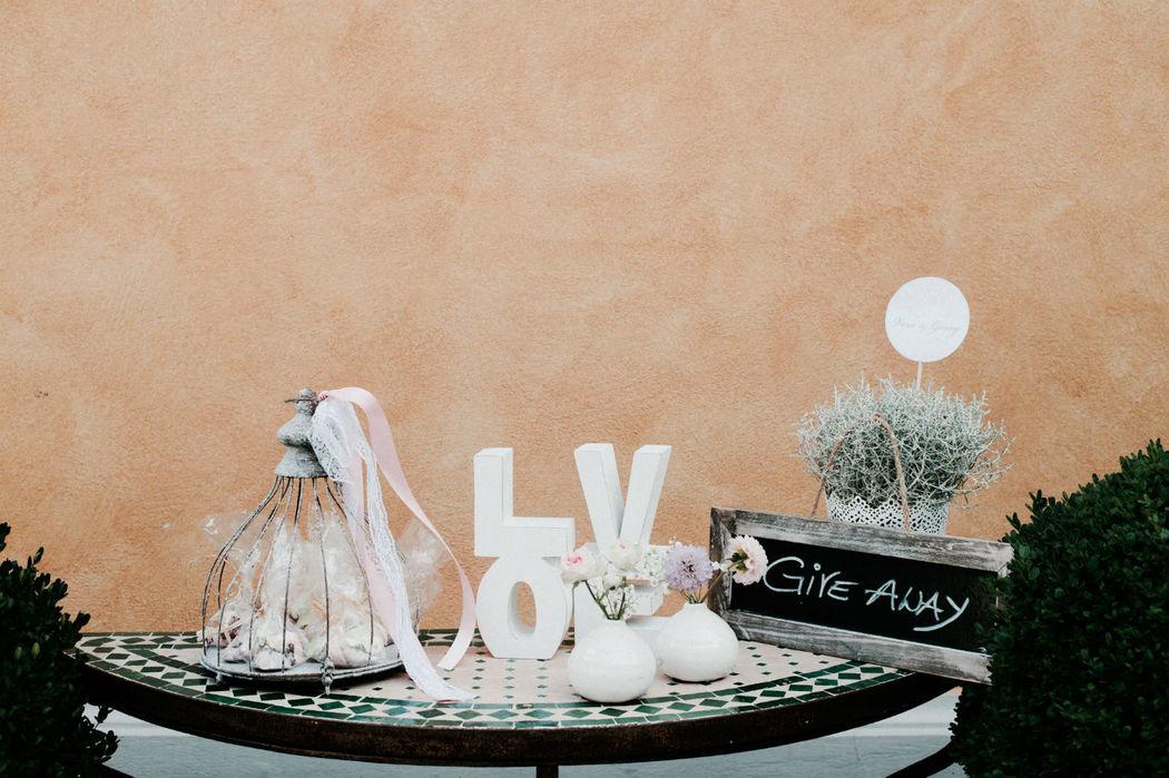 Beispiel: Individuelle Hochzeitsdekoration, Foto: Ladies & Lord.