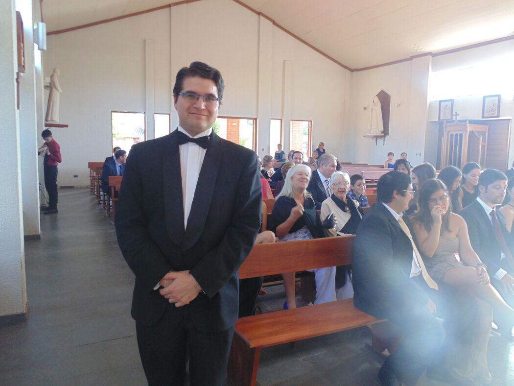 Boda en Capilla Jesús Maestro, Talca. Febrero de 2016.