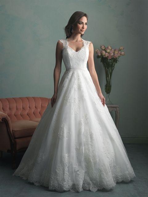 Marca: Allure Bridals. Modelo: 9166.