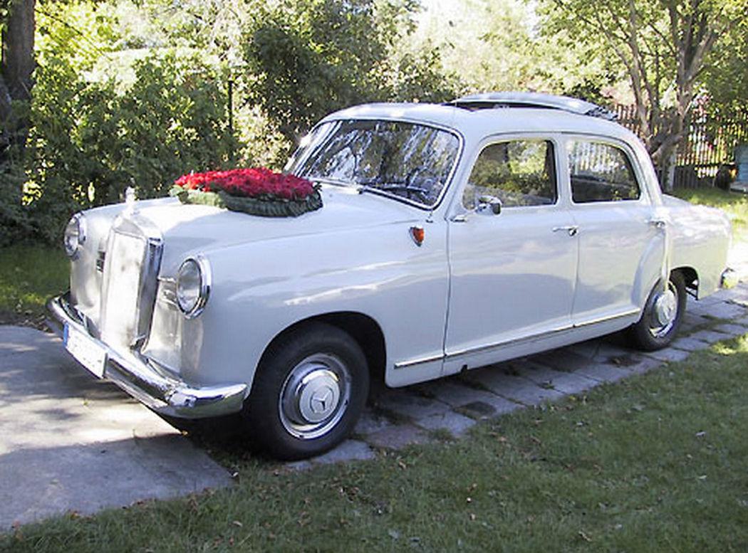 Beispiel: Mercedes 180 D, Foto: auto-fritze.
