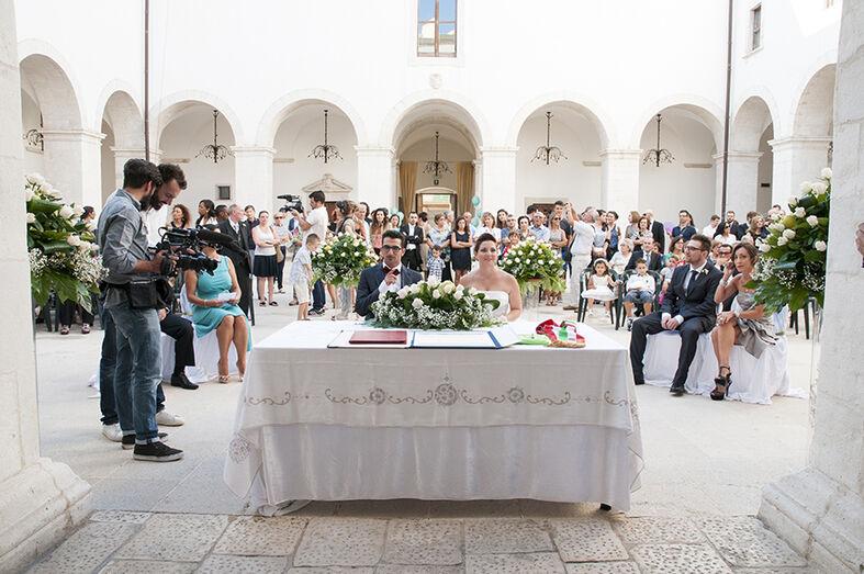 The White Happening: La cerimonia