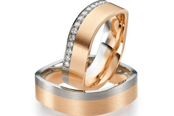 Beispiel: Ringe von bekannten Markenherstellern, Foto: Juwelier Gerner.