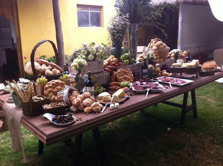 Boda en Urubamba - Mesa de quesos