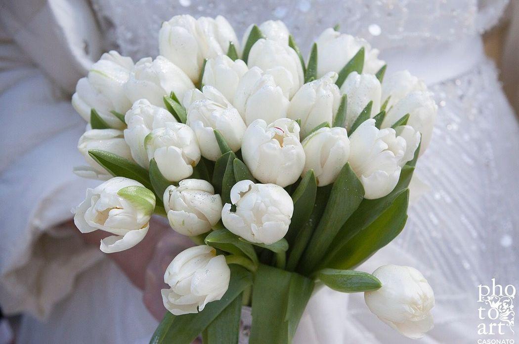 Bouquet di tulipani Cortina
