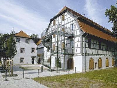 Beispiel: Vorderansicht, Foto: Buhlsche Mühle.