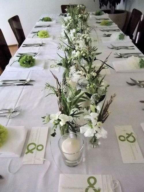 Beispiel: Hochzeitsfloristik, Foto: Die Blumenoase.