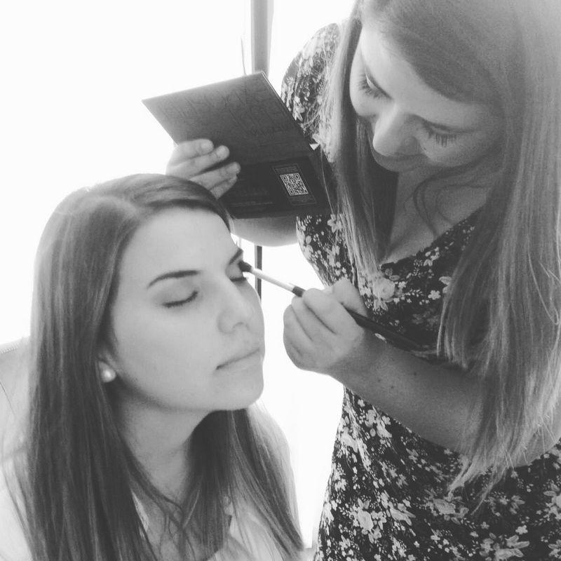 prueba de maquillaje de novia