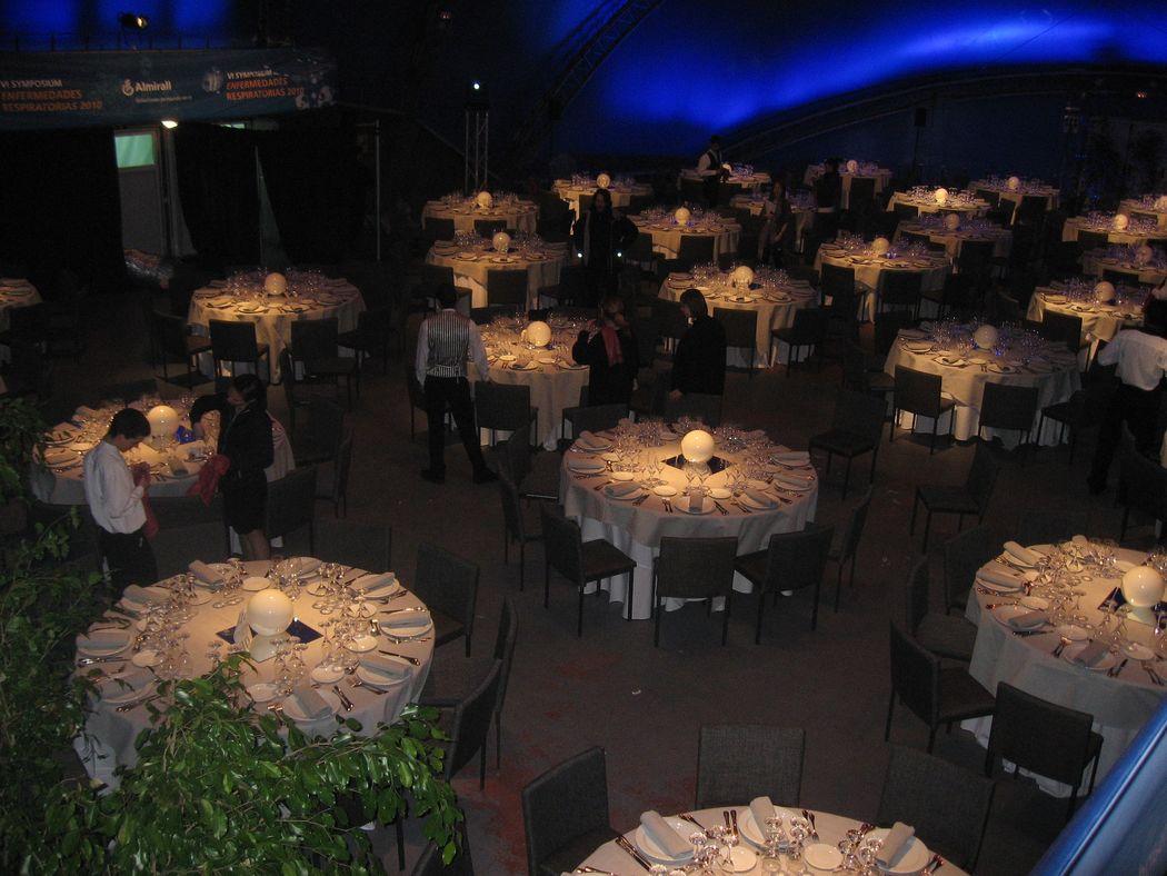 Banquete en La Carpa