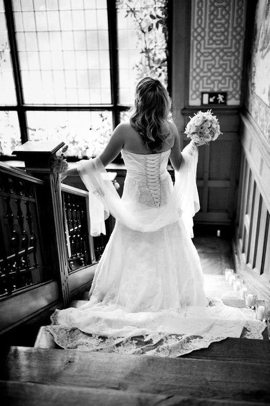 Beispiel: Braut vor der Hochzeit, Foto: Hochzeitswerkstatt.