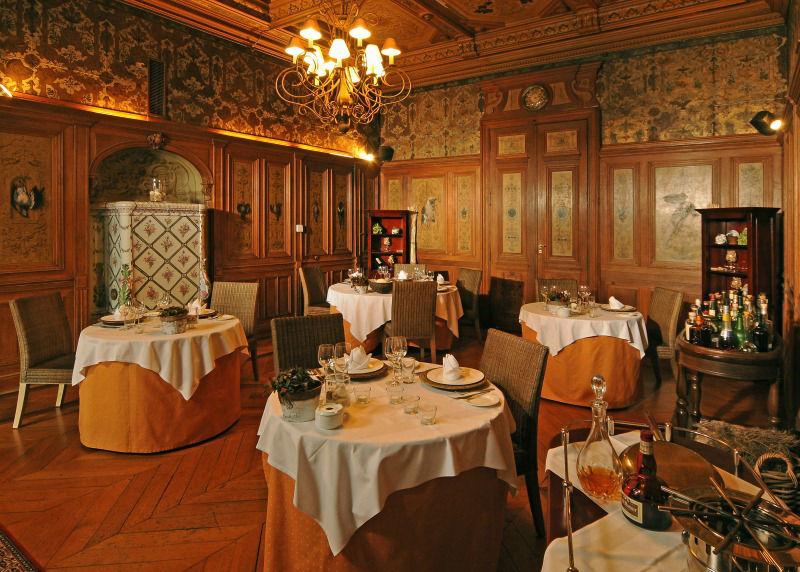 Beispiel: Das Jagdzimmer, Foto: Schloss Schadau Thun.