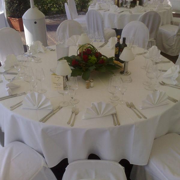 Beispiel: Bankett, Foto: Hotel Restaurant Seeterrassen Wandlitzsee.