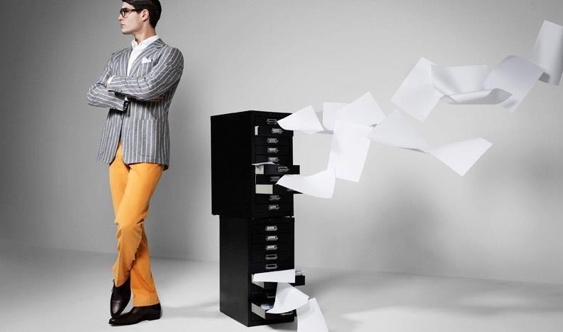 Beispiel: Elegante Herrenmode, Foto: Calkap - Atelier für Maßkonfektion.