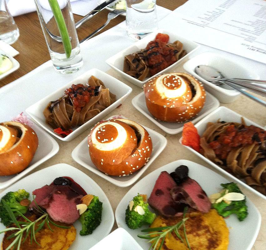 Beispiel: Professionelles Catering für Ihre Hochzeit, Foto: Stiftl Catering und Events.
