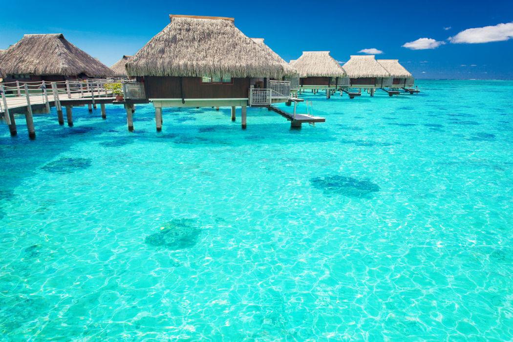 Villa sur pilotis aux Maldives, Polynésie, un moment exceptionnel
