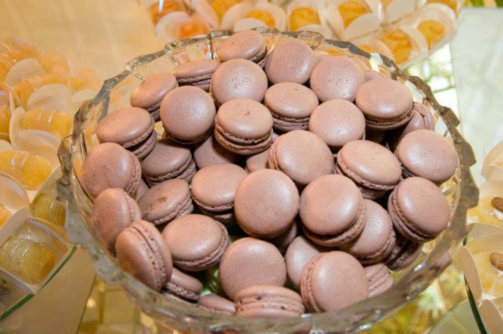 Macarons de chocolate Rafaela Panisset