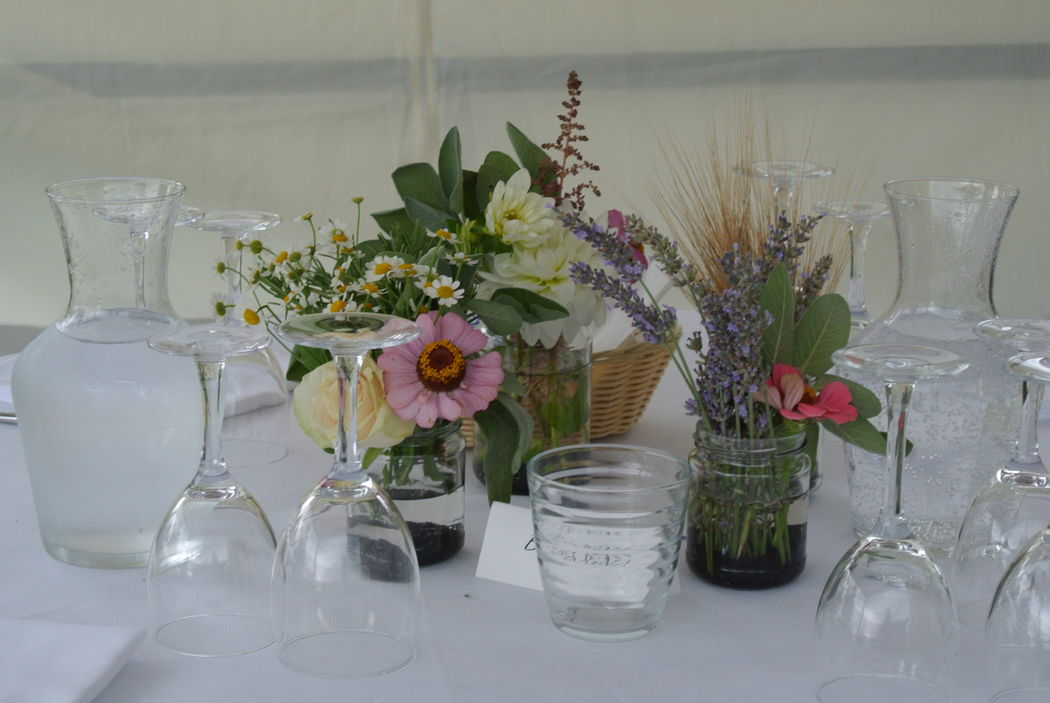 Eco-country wedding - Tavolo ospiti
