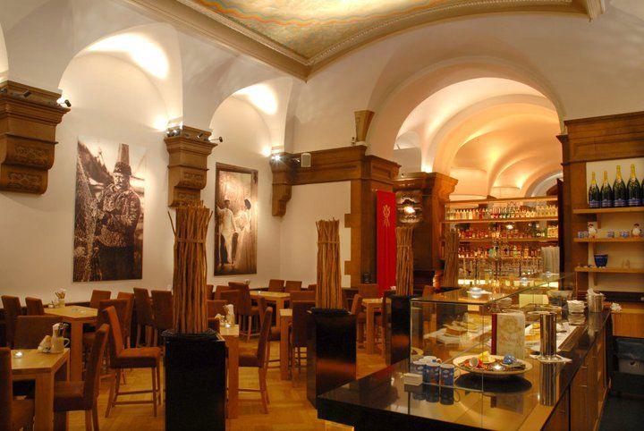 Beispiel: Räumlichkeiten mit Charme, Foto: Parlament.