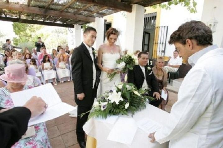 Celebración de la ceremonia