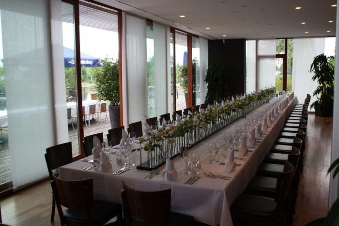 Beispiel: Hochzeitstafel, Foto: Delcanto.