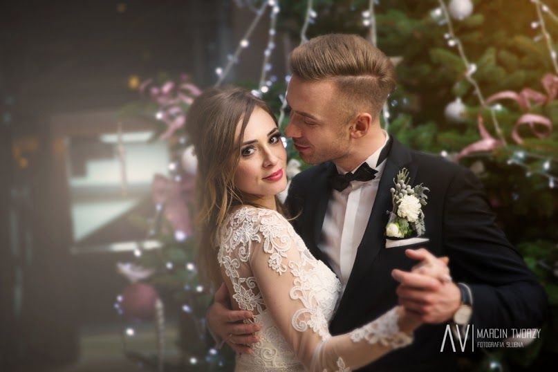 Piękny świąteczny ślub