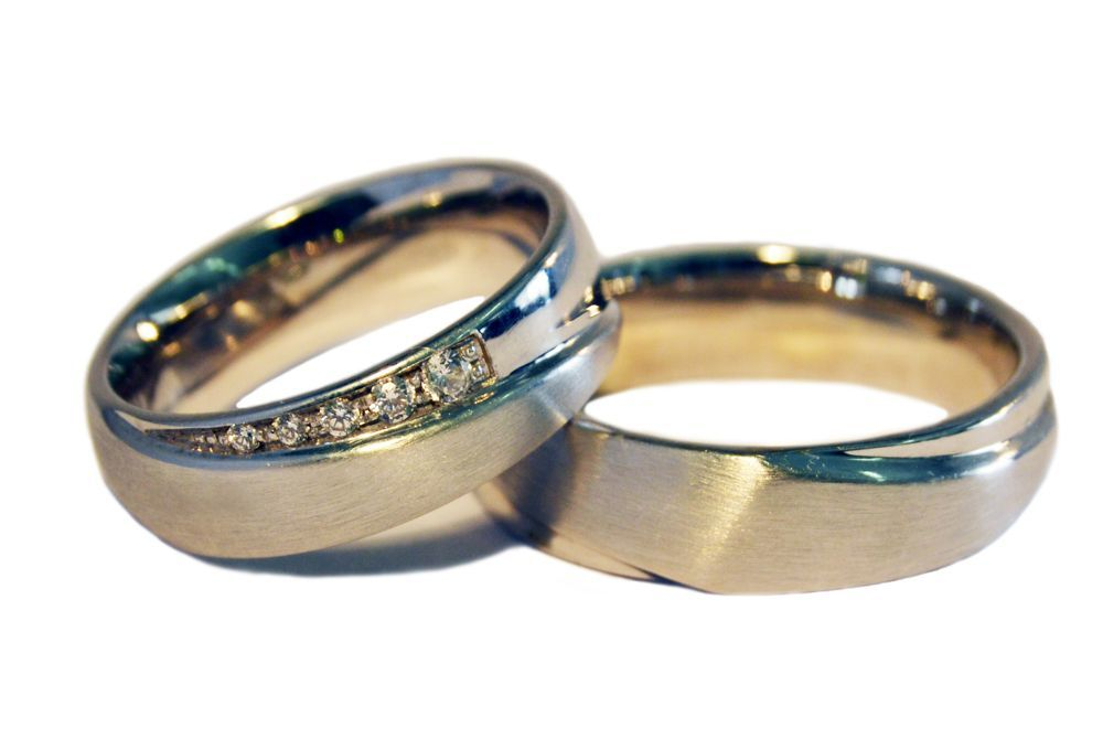 Alianças Casamento Ouro Banco ALC68
