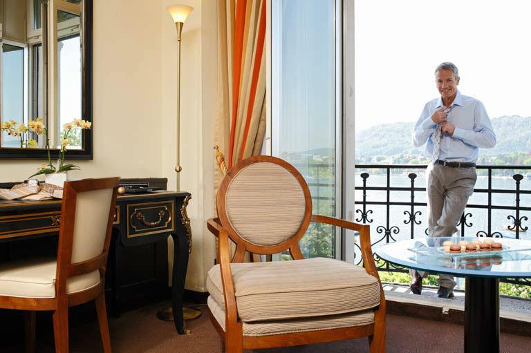 Beispiel: Zimmer, Hotel Eden au Lac.