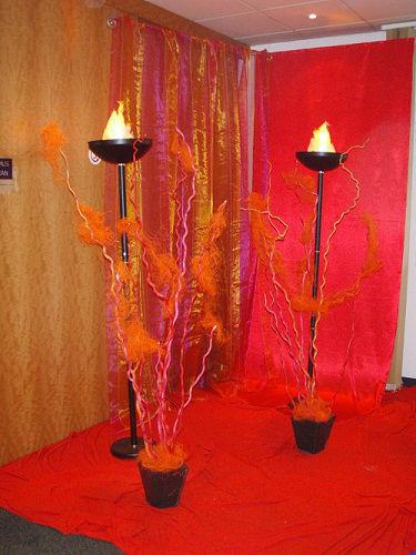 Beispiel: Beleuchtung, Foto: Deko-Rent.