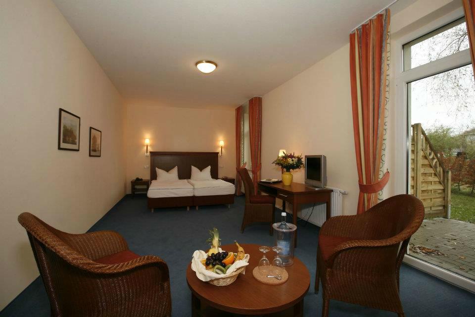 Beispiel: Hotelzimmer, Foto: Seehotel Heidehof.