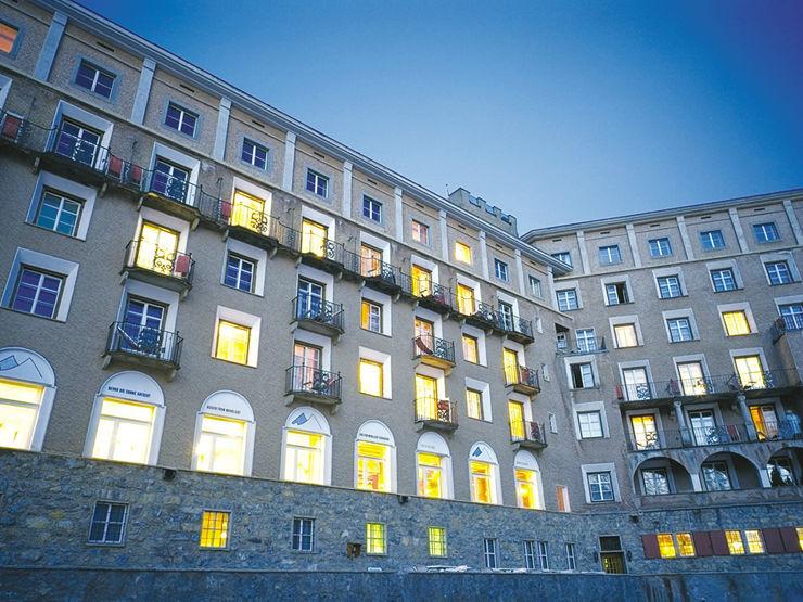 Beispiel: Gebäudeansicht, Foto: Hotel Castell.