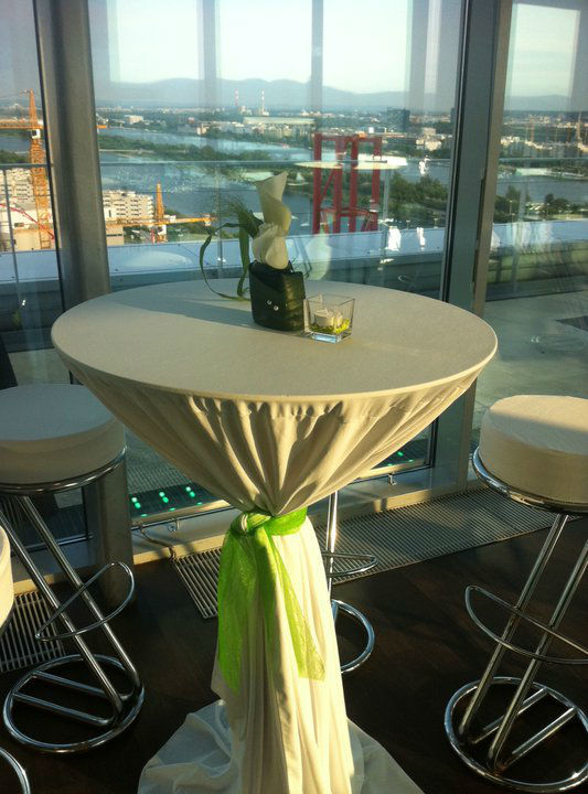 Beispiel: Agape zur Hochzeit, Foto: Bar and more Eventcatering.